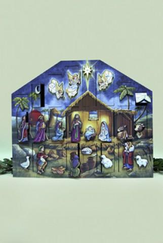 Byers Choice Advent Calendar Nativity