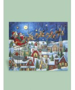 Byers Choice Advent Calendar Santa's Sleigh