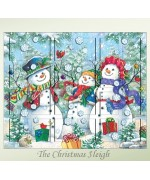 Byers Choice Advent Calendar Snowman