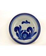 German Salt Glaze Pottery Small Plate