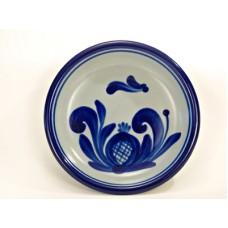 German Salt Glaze Pottery Small Plate