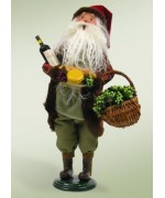 TEMPORARILY OUT OF STOCK - Byers Choice Wine and Cheese Santa