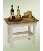 Byers Choice Wine and Cheese Table