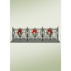 Byers Choice Wrought Iron Fence