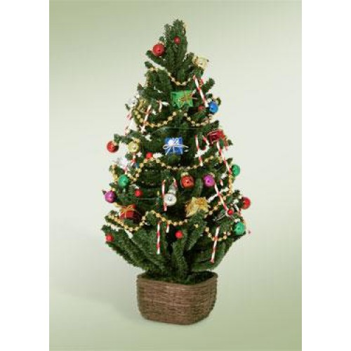 byers choice light up christmas tree - Light Up Christmas Tree