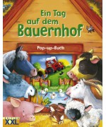 TEMPORARILY OUT OF STOCK - Ein Tag auf dem Bauernhof  A Day on the Farm Pop Up Book