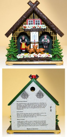 TEMPORARILY OUT OF STOCK - German Cuckoo Clock