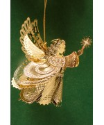 TEMPORARILY OUT OF STOCK - 3D Angel with Star Wings Chem Art