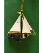 TEMPORARILY OUT OF STOCK - Sailboat Chem Art