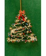 TEMPORARILY OUT OF STOCK - Contemporary Christmas Tree Chem Art