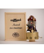 "TEMPORARILY OUT OF STOCK <BR><BR> ""Herr Drosselmeyer"" Christian Steinbach Music Box"