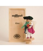 "TEMPORARILY OUT OF STOCK <BR><BR> ""Klara"" Tiny Nutcracker Christian Steinbach"
