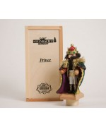 "TEMPORARILY OUT OF STOCK <BR><BR> ""Prince"" Tiny Nutcracker Christian Steinbach"