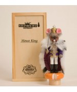 TEMPORARILY OUT OF STOCK - Mouse King Tiny Nutcracker Christian Steinbach