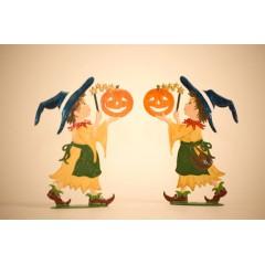 Zauberer Halloween Trick-or-Treater Standing Pewter Wilhe