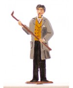 TEMPORARILY OUT OF STOCK <BR><BR> Father Standing Pewter BABETTE SCHWEIZER