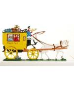 Bavarian Stagecoach' Standing Pewter BABETTE SCHWEIZER