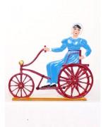 Paris Tricycle, 1840' Standing Pewter BABETTE SCHWEIZER