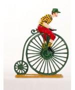 High Cyclists' Hochradfahrer Standing Pewter BABETTE SCHWEIZER
