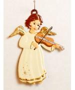 Engel mit Geige Christmas Pewter Wilhelm Schweizer