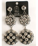 Dazzling Swarovski Crystal Hanging Earrings