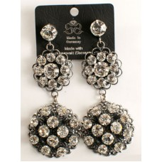 Dazzling Swarovski Crystal Hanging Earrings