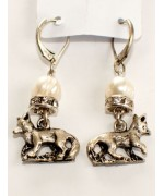 TEMPORARILY OUT OF STOCK - Beautiful German Fox Earrings