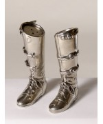 Vagabond House Pewter Riding Boots Salt & Pepper Shakers