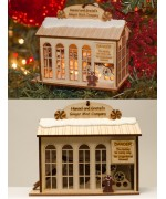 TEMPORARILY OUT OF STOCK <BR><BR> 'Hansel & Gretel's Ginger Mint Mill' Ginger Cottages