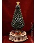 The Christmas Tree  Ginger Cottages  Music Box - MD
