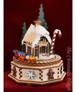 North Pole  Ginger Cottages  Music Box