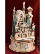 Snow Queen's Castle  Ginger Cottages  Music Box