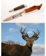 TEMPORARILY OUT OF STOCK - German Stag Hunting Knife