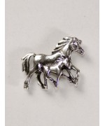 Horses Trotting Pin