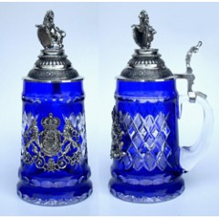 Blue Lord of Crystal' OKTOBERFEST 0.5 L. Beer Stein