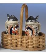 German Salt and Pepper Shakers