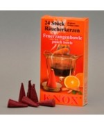 TEMPORARILY OUT OF STOCK - German  'PUNCH BOWLE'  Incense Cones Raeucherkerzen