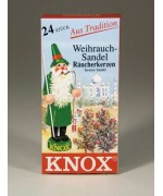 German 'SANDALWOOD'  Incense Cones Raeucherkerzen