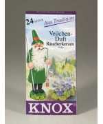 German 'VIOLET' Incense Cones Raeucherkerzen - MD