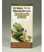German 'PATCHOULI'  Incense Cones Raeucherkerzen