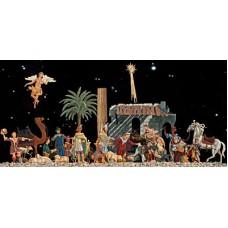 Christmas Nativity Christmas Pewter Wilhelm Schweizer