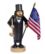 "TEMPORARILY OUT OF STOCK   KWO Smokerman  ""Abraham Lincoln"""