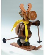 KWO Smokermen Christmas The Skiing Moose - TEMPORARILY OUT OF STOCK