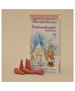 NEW - Tradition of the Erzgebirge Christmas Apple Incense Cones