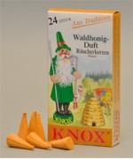 German 'WALD HONIG' Incense Cones Raeucherkerzen