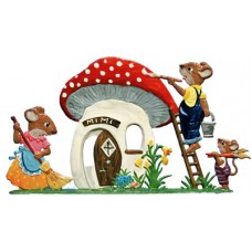 Mice Fixing Their House Wilhelm Schweizer