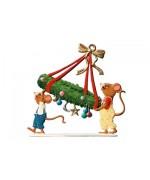 Mouse with Wreath Wilhelm Schweizer