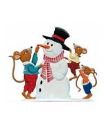 Mice and Snowman Wilhelm Schweizer