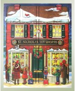 Byers Choice  Musical Advent Calendar  St. Nick's Toy Shoppe