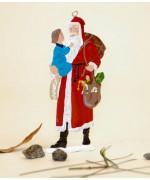 Santa holding Child' BABETTE SCHWEIZER